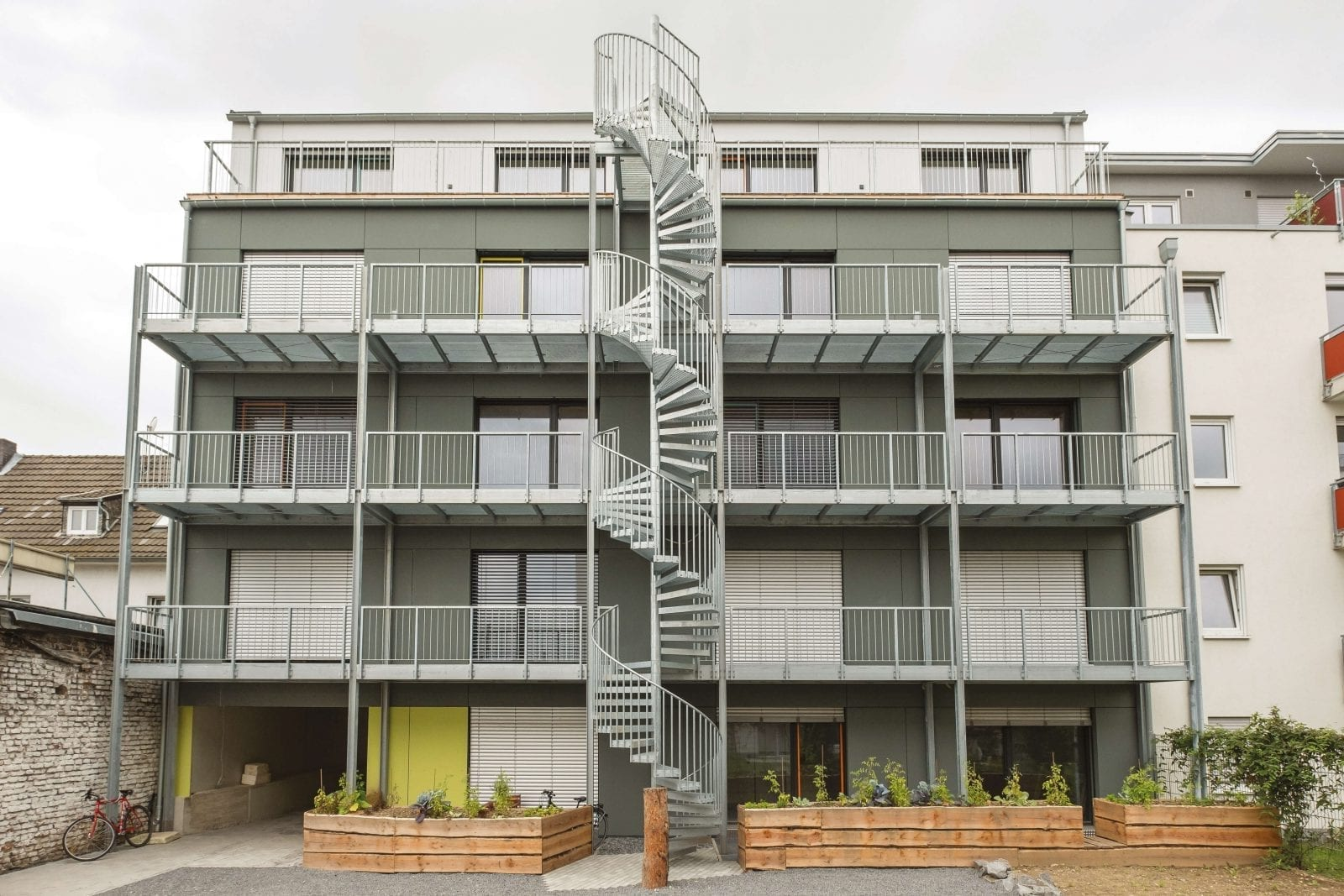 Studentenwohnheim in Bonn - Bildquelle: © Ives Paduch