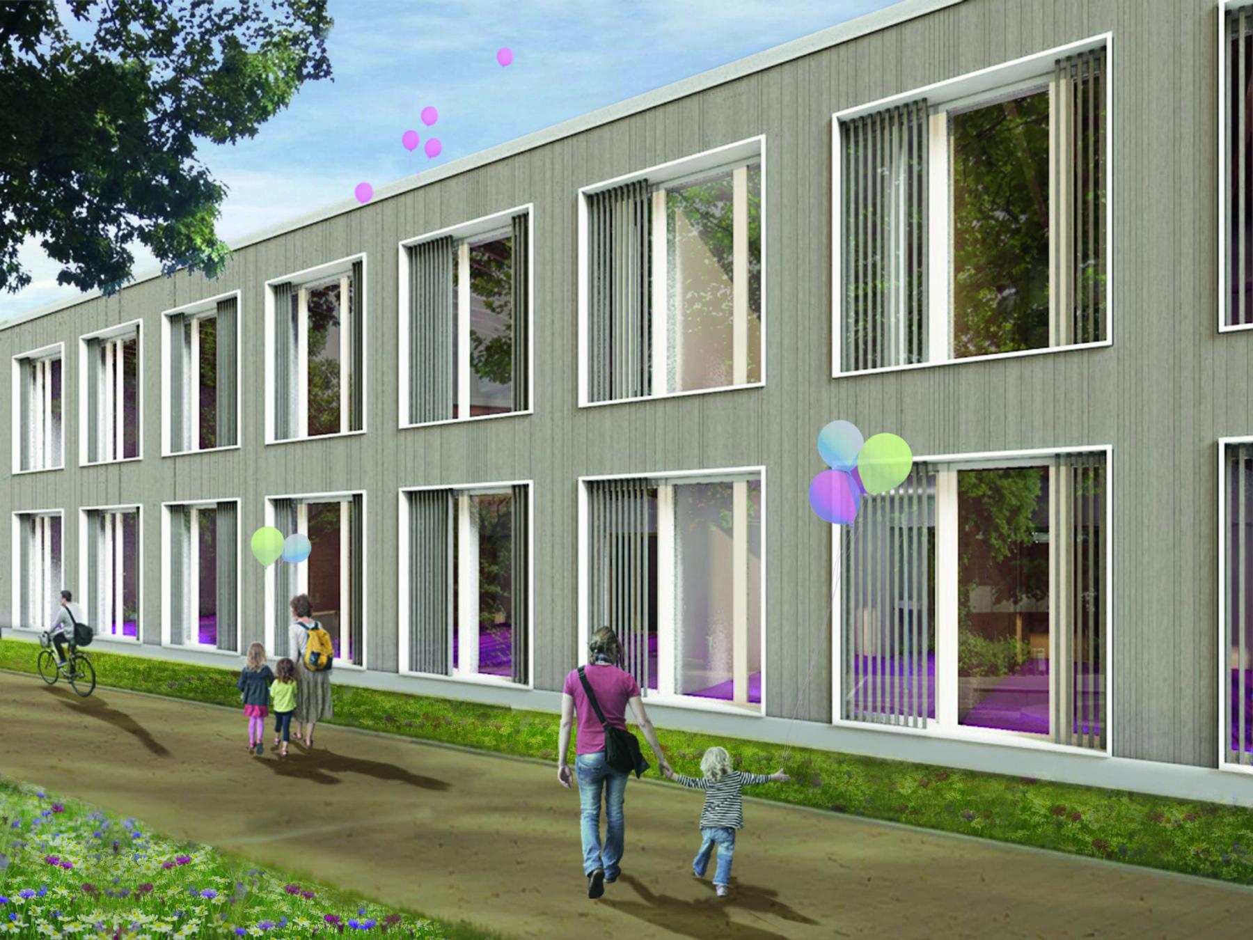 Mathilde-Anneke-Gesamtschule Münster / Bildquelle: farwick + grote Architekten BDA